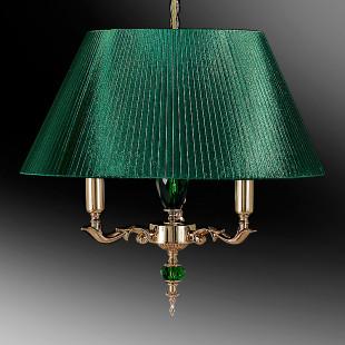 Светильник подвесной с абажуром