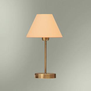 Настольная лампа с абажуром 20-516КМ/13755М