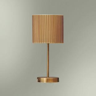 Настольная лампа с абажуром 170-08/13755М