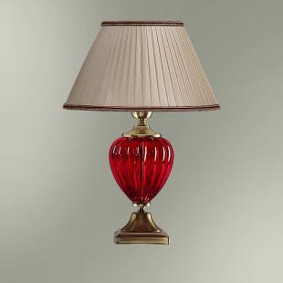 Настольная лампа с абажуром 29-08.57/95509