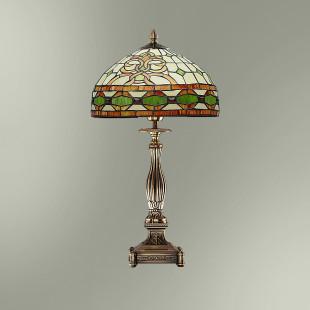 Настольная лампа с абажуром в стиле Тиффани ТИФ300/13255Т