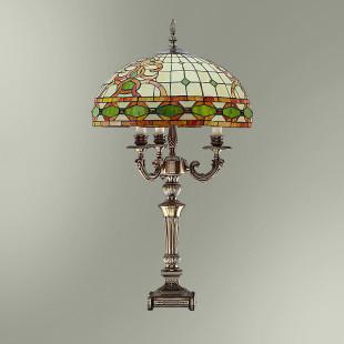 Настольная лампа с абажуром в стиле Тиффани ТИФ440/13155Т