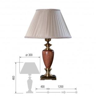 Настольная лампа Карелия-69