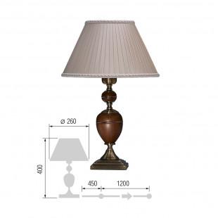 Настольная лампа Карелия-71