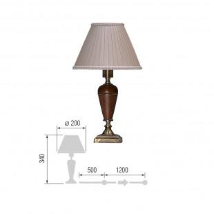 Настольная лампа Карелия-73
