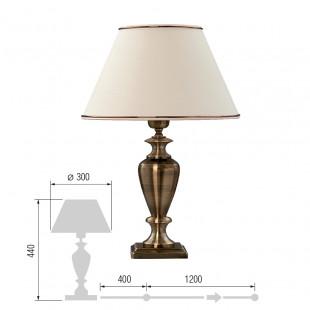 Настольная лампа Ливадия-45