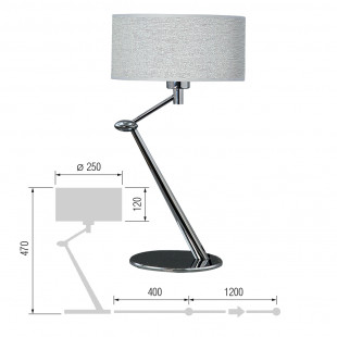 Настольная лампа Фристайл-39