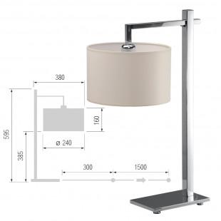 Настольная лампа Пифагор-36