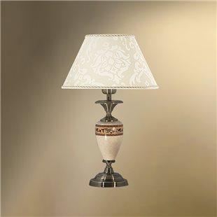 Настольная лампа с абажуром 26-402.56/36156 ПАЛЬМИРА