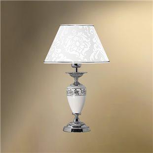 Настольная лампа с абажуром 26-401Х/36163 ПАЛЬМИРА