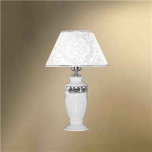 Настольная лампа с абажуром 26-401Х/9263N НАДЕЖДА