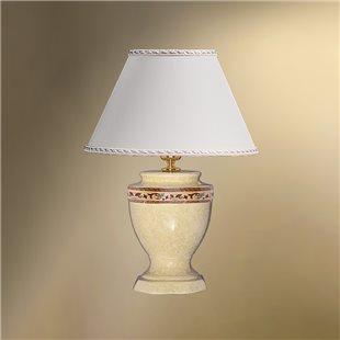 Настольная лампа с абажуром 33-522.56/10656N БОСТОН