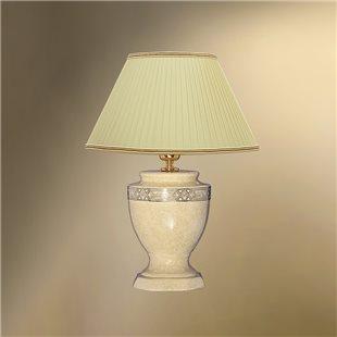 Настольная лампа с абажуром 33-12.50/10656 БОСТОН