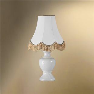 Настольная лампа с абажуром 24-17М/7363 ГНОМ