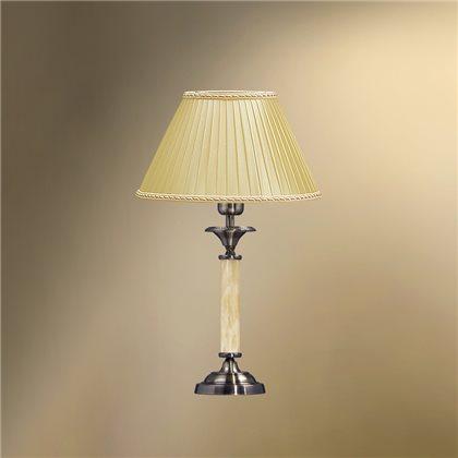Настольная лампа с абажуром 23-12.56/8722 СТЕЛЛА