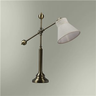 Настольная лампа с абажуром 21-104/3855 ДОКТОР ВАТСОН