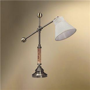Настольная лампа с абажуром 21-104/3856 ДОКТОР ВАТСОН
