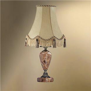 Настольная лампа с абажуром 24-25К/8656 ВИКТОРИЯ