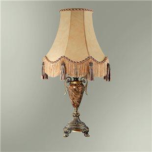 Настольная лампа с абажуром 24-30К/13356 СПАРТА