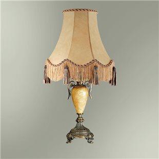Настольная лампа с абажуром 24-30К/13322 СПАРТА
