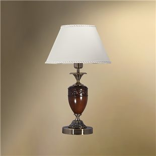 Настольная лампа с абажуром 29-522.56/36180 ПОМПЕИ