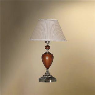 Настольная лампа с абажуром 33-08.56/9078 ВИКТОРИЯ