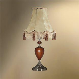 Настольная лампа с абажуром 24-25К/9078 ВИКТОРИЯ