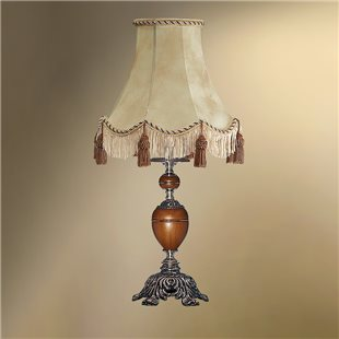 Настольная лампа с абажуром 24-25К/8878 ВИКТОРИЯ