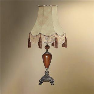 Настольная лампа с абажуром 24-30К/3478 ВИКТОРИЯ