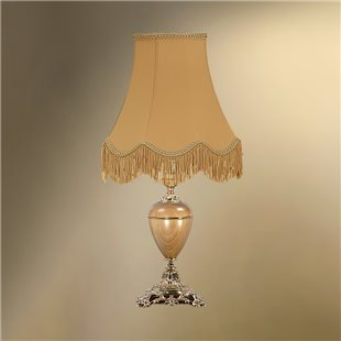 Настольная лампа с абажуром 24-25Ж/9077 ВИКТОРИЯ
