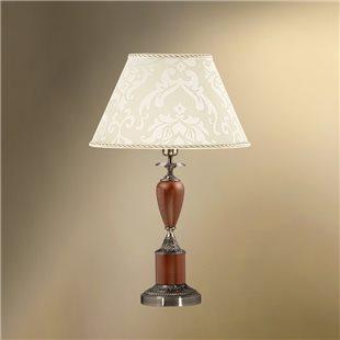 Настольная лампа с абажуром 38-402.56/3378 ТАМЕРЛАН
