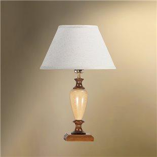 Настольная лампа с абажуром 29-104/8478 КАРЕЛИЯ