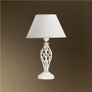 Настольная лампа с абажуром 29-104/13602 ШАЛЕ АБЕЛЬ