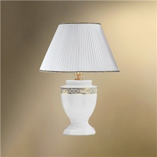 Настольная лампа с абажуром 33-01.50/10663 БОСТОН