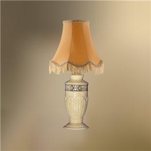 Настольная лампа с абажуром 24-20Ж/9256 НАДЕЖДА