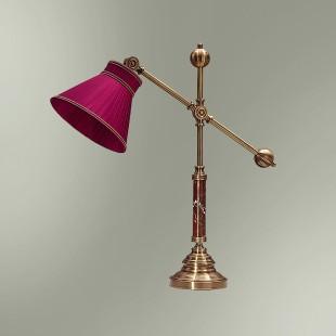 Настольная лампа с абажуром 21-09.57/3857 ДОКТОР ВАТСОН